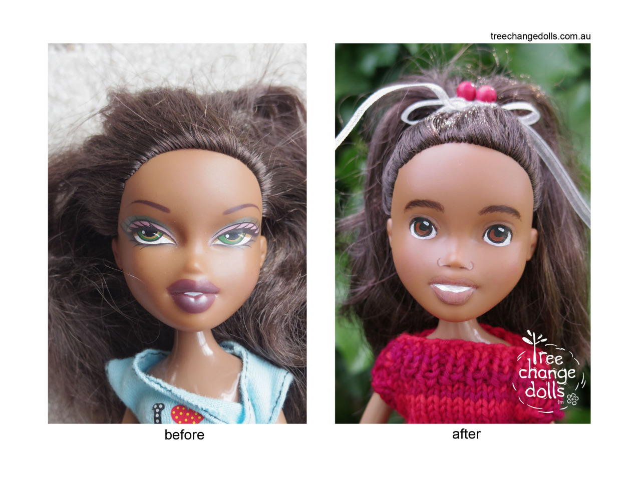 "Photo Courtesy of <a href=""https://www.facebook.com/treechangedolls"">Tree Change Dolls</a>"